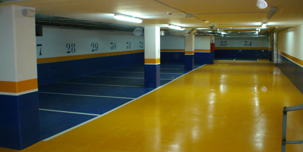 Garaje - Pintura de garaje ...